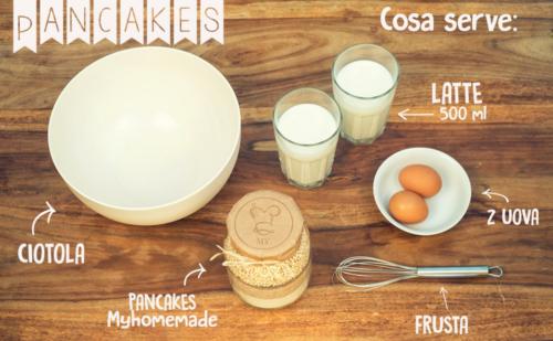 Ricetta Pancakes_Tulipando