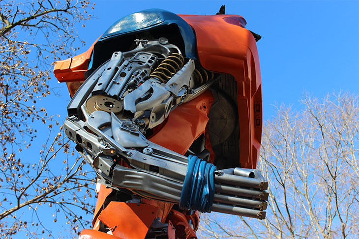Transformers Art Karankot Goku MuseoScienza_Tulipando