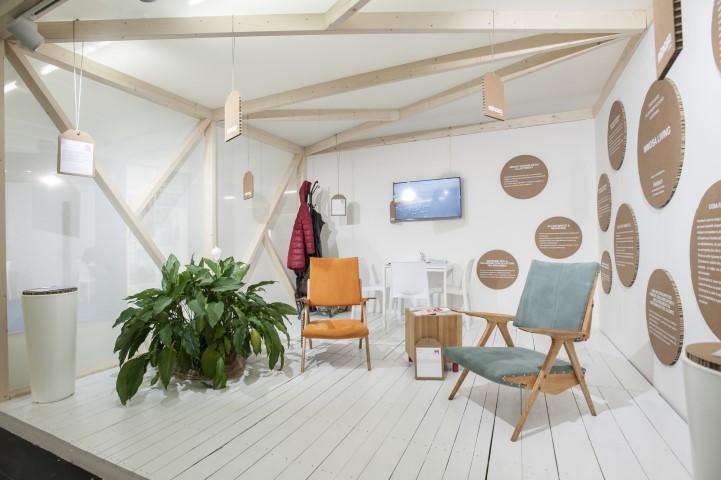 Expo Riva Hotel Mimosa Living stand fieristici_Tulipando