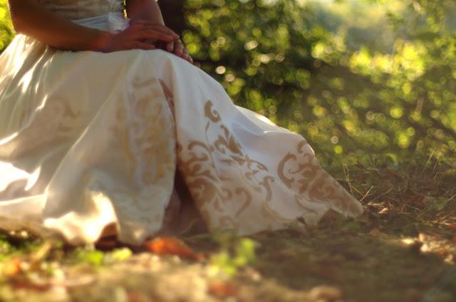 La sposa dipinta matrimonio green_Tulipando
