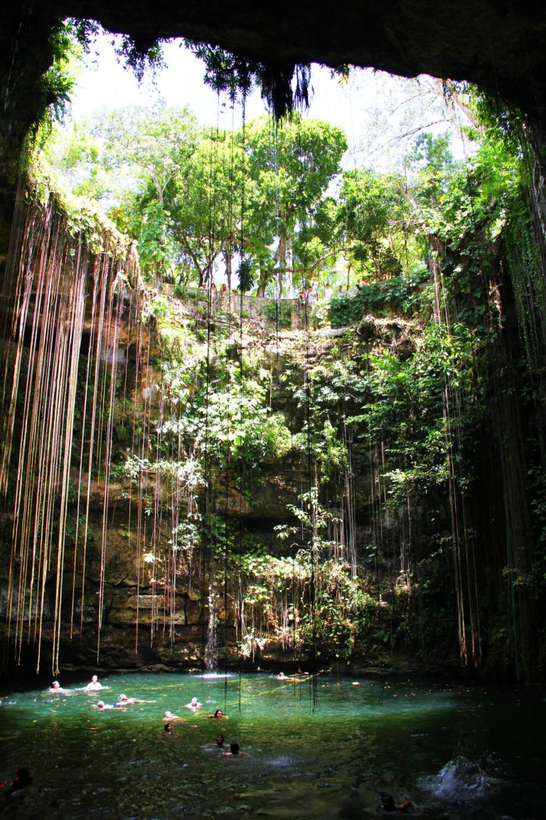 Cenotes Ik Kil Messico2017_Tulipando