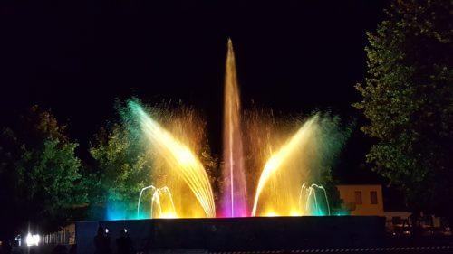 Fontane Danzanti Festa dell'Uva Miradolo Terme