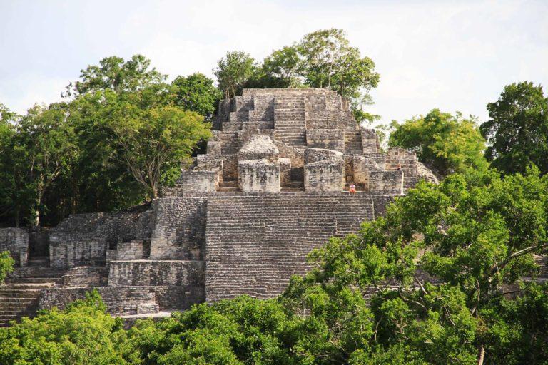 Calakmul 2 Messico Maya_Tulipando