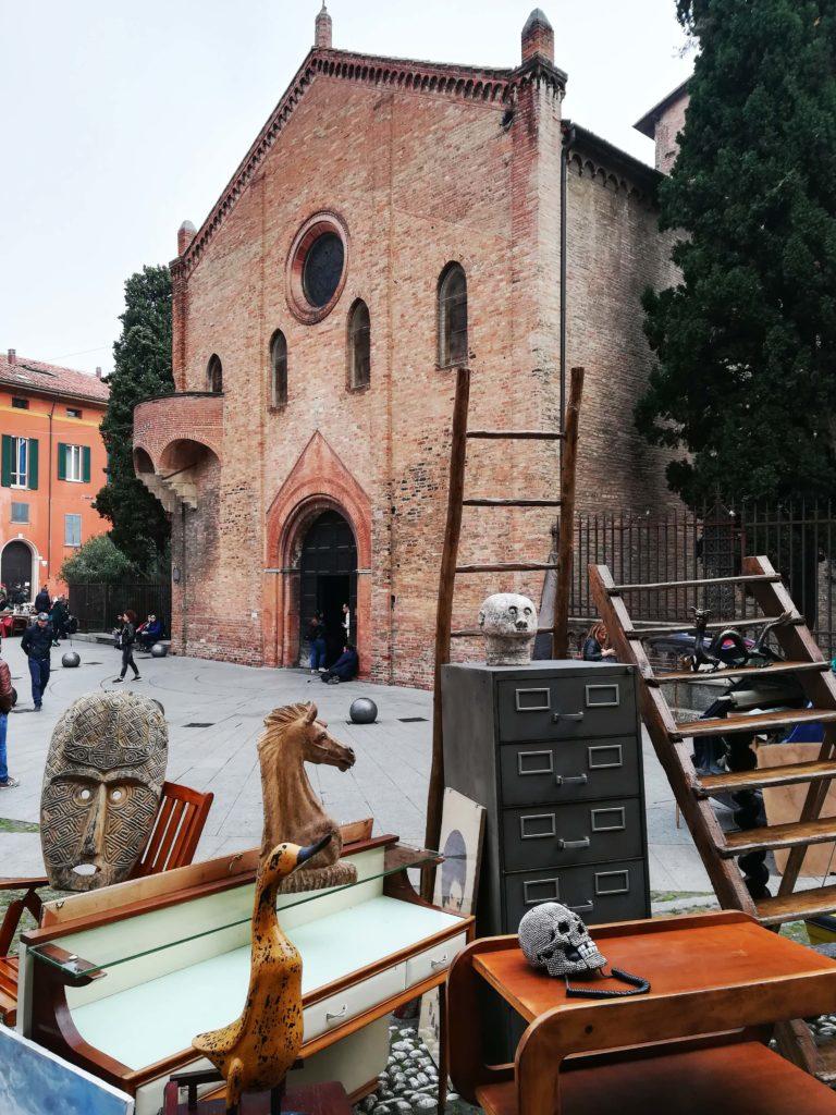 Piazza S.Stefano bolognesi_Tulipando