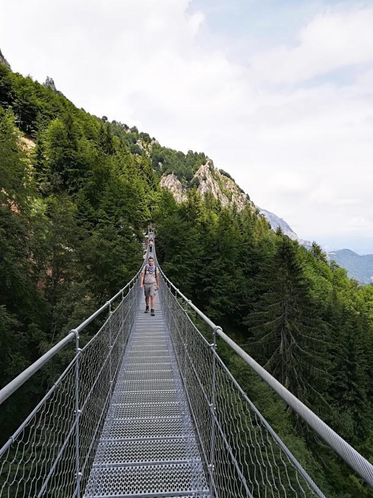 Ponte Tibetano Valli del Pasubio_Tulipando