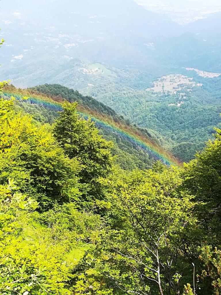 Arcobaleno a Valli del Pasubio Strada del Re_Tulipando