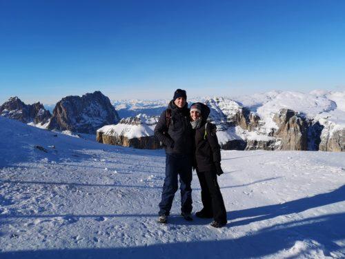 Tulipando sulla Terrazza delle Dolomiti Val di Fassa