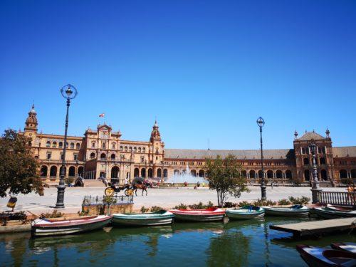 Plaza de Espana_2 giorni a Siviglia