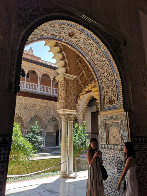 Jardines Real Alcazar_2 giorni a Siviglia