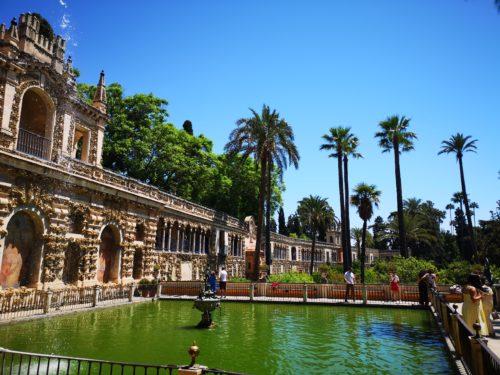 Gardens Real Alcazar_2 giorni a Siviglia