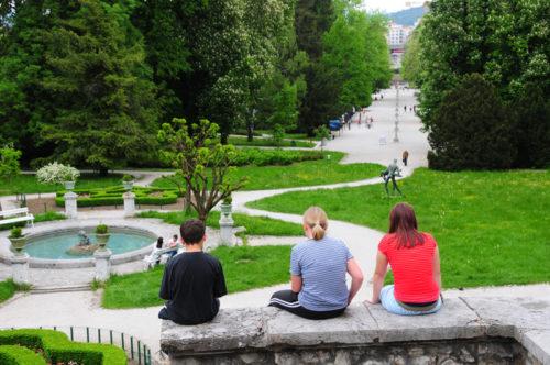 Tivoli Garden Ljubljana_Credits Visit Ljubljana